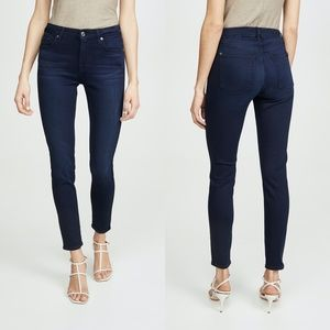 7 For All Mankind Slim Illusion Ankle Skinny Jeans